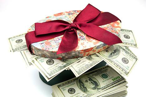 Как подарить депозит третьему лицу{q}