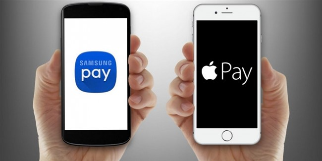 Samsung Pay и Apple Pay: различия