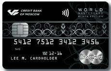 World MasterCard Black Edition