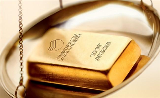 Цена на грамм золота в Сбербанке