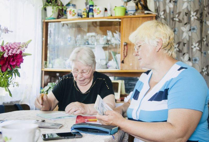 пенсии увеличены до 15 496 рублей